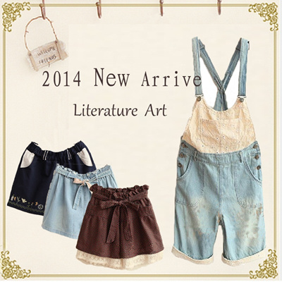 Free Shipping/2014 Hot Japanese Style Clothes/Short/Shirt/loose shorts Casual pants