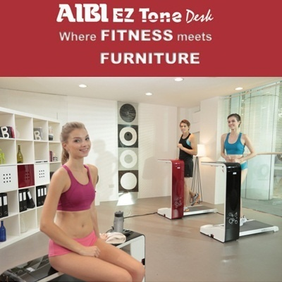 [AIBI] EZ Tone Desk TD-2710 / Treadmill / Fitness / Free Delivery /Warranty: 2 years on motor 1 year on parts (excluding wear and tear)