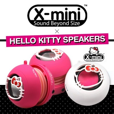 [X-Mini]★CHEAPEST IN TOWN!★ AUTHENTIC Hello Kitty Capsule Portable Speaker ★Limited Edition★ Local Stocks