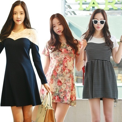 【Lalael Dress Collection】★2014 S/S New Arrivals★ Korean Womens Fashion / Chiffon / Lace / Popular Dress
