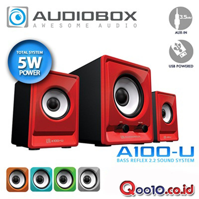 Audiobox A100-U (Bass Reflex 2.2 System)