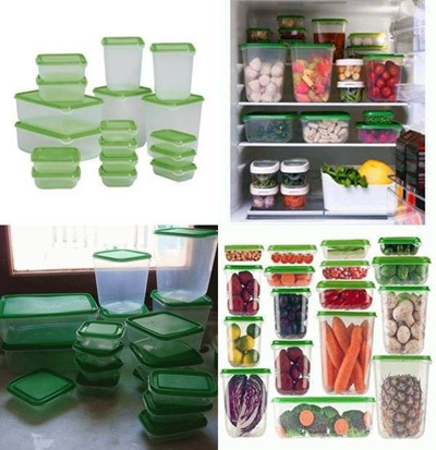 Ikea 17Pcs Food Container FREE SHIPPING!!!
