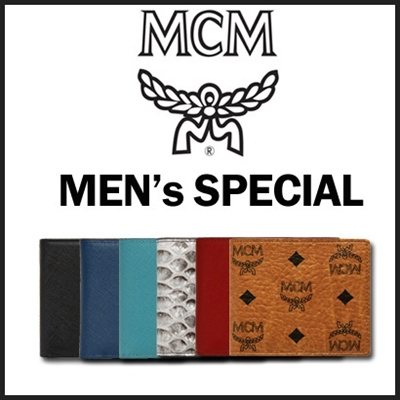  [AUTHENTIC MCM] SPECIAL PRICE FOR MEN 23 TYPES OF PURSE /WALLET/MONEY CLIP/VISETOS/CO