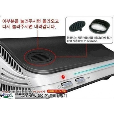 ★★STAR BUY★★~FREE FILTER + HOME ADAPTER【 UV LAMP + HEPA 】CAR AND HOUSEHOLD NEGATIVE ION AIR PURIFIER