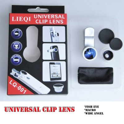 Universal Clip Lens 3in1 *MACRO*WIDE*FISH EYE*