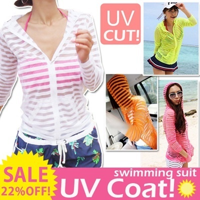 Summer UV coat swimming suit swimming pool swimming outdoor new feeling sick