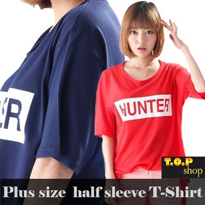 Free shipping!!!★KOREA MEGA HIT 88% OFF★ [Top Shop] Plus Size T-Shirts Over 10 Style Customer Satisfaction High products  in Korea Girlish Long T-Shirts! Travel Item Travel Acc Comfortable