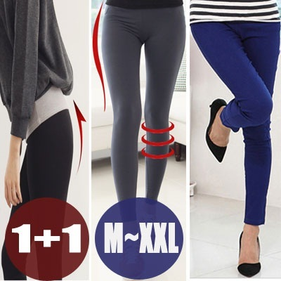 ★Buy 1 Get 1 Free★New Update★Limited Sale KOREA HOTTEST ITEM Cotton Spandex Pants Plus Size M~XXL/Napping Leggings/Skinny Pants/Big Size Pants/Winter Leggings/korean style