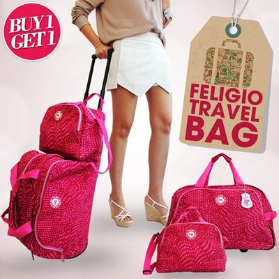 [HOT ITEM] FELIGIO TRAVEL BAG !! BUY 1 GET FREE 1 !!