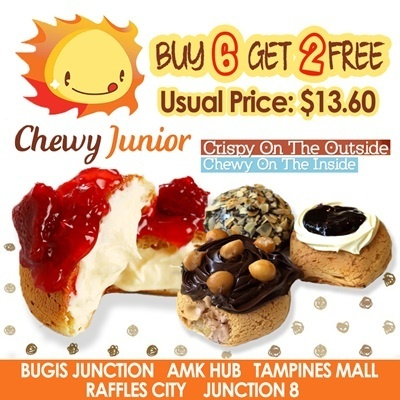 [Children Day Gift] Only $9.90 for 8 pcs (U.P:$13.60) at Chewy Junior. Available at 5 Convenient Locations. $14.50 for 12 pcs(U.P:$20.40)option available in seller store too.