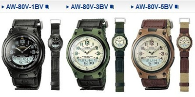 CASIO AW-80V-3BVDF ORIGINAL_2 COLORS_GUARANTEE_INCLUDE BOX
