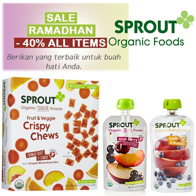 [Sale RAMADHAN 10% OFF]Sprout Organic Food For your baby