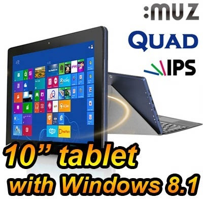 [Muz] Mupad WIN 10.1 Tablet PC 32GB/64GB 7 inch Quad core PC Quad Core android with TV cable for video game