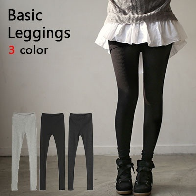 [Made in Korea]comfy legings/3color/stylish/slim fit/span leggings/ba821