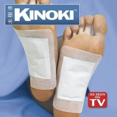 100pcs Kinoki Detox Foot Pads Patch As Seen On TV -- MTV15