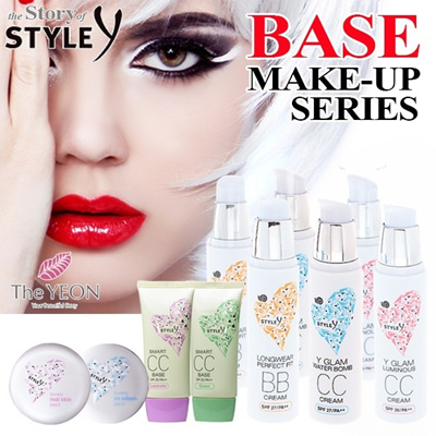Customer Satisfaction No.1!! ★ Eco-Friendly [The YEON] style_y base make up Series