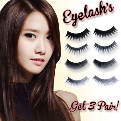 [1Set = 3PASANG] ESSE EYELASH_HIGH QUALITY EYELASH_6TYPE_LOWEST PRICE