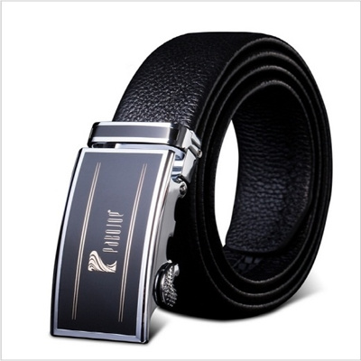 [PABOJOE] Cowhide Automatic leather belt mens belts