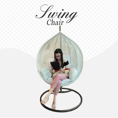 Designer Swing Chair (Earliest Delivery 28/2/2014)