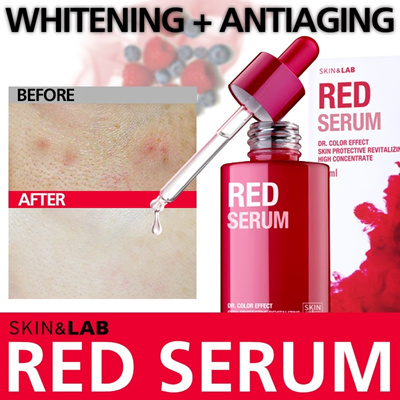 RED SERUM ◆Essence with Powerful Anti-aging Effect ◆Lifting/Whitening