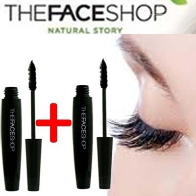 [1+1] The Face Shop: Big Mascara Curl / Volume