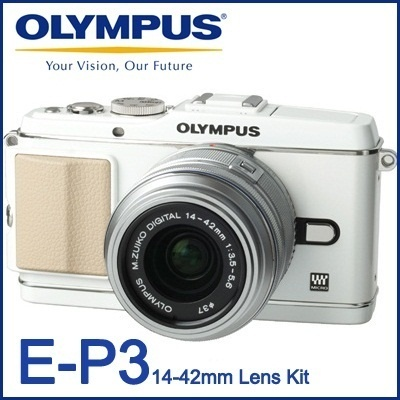 [CLASSIC STYLE] OLYMPUS PEN E-P3 + 14~42mm II(R) Digital Camera (World Warranty 1 Year) Blazing spe