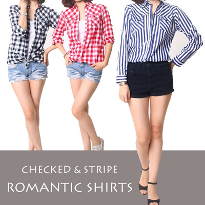 CHECKED SHIRTS CELLECTION★HIGH QUALITY★KOREAN STYLE