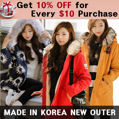★Get 10% OFF for Every $10 Purchase★[★Price Going Up Soon★ Get 10% Off for Every $10 Purchase★ [Vivaing]2014 Design by Korean Outer / Coat / Jacket / winter jacket coat / Denim coat [UP TO 75% OFF