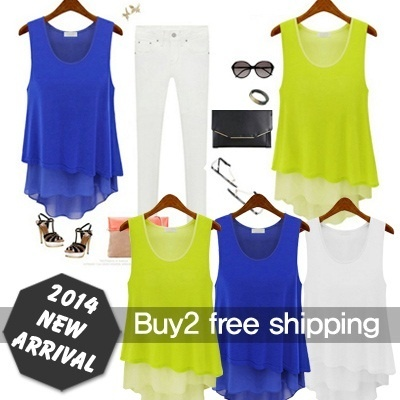 ★BUY 2 FREE Shipping★Made in Korea/TOP/PLUS sized/Loose Fit/Long T-shirt/Blouse/Dress/sleeveless Tee/XXL/BIG