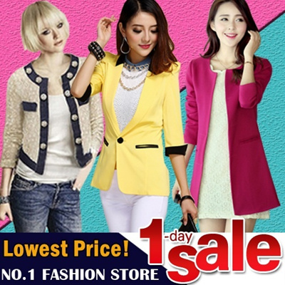 【GSS July New Arrivals】Fashion Ladies Casual Jackets / Long Coats / Sun Dress / Suits