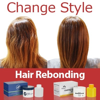 Hair straight Cream / Rebonding Cream