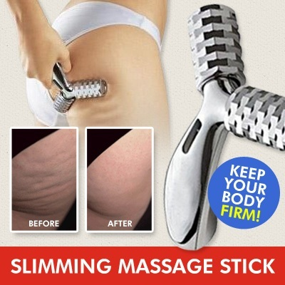 Slimming Massage Stick / use after apply Clarins Anti Cellulite / keep firm Body Y massager