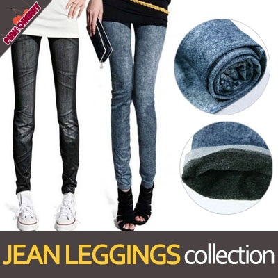 ★Plus Size Winter Jean Leggings★*Today Only Special Price$ 4.9*/XL~XXXL Napping Jean Leggings/Normal Jean Leggings/Winter Leggings/Lowest Price