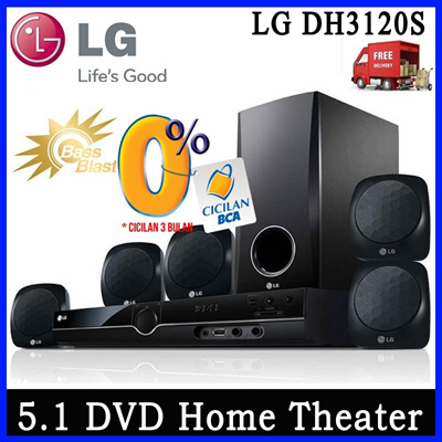 [FREE SHIPPING JADETABEK] SPECIAL CHRISMAST LG HOME THEATER IN THE BOX DH3120S