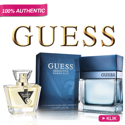 Parfum Original GUESS for Man and Woman *100% Authentic Guess Fragrances Collection