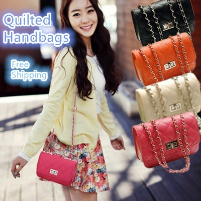 ★New Fashion ★Women Quilted Handbags / Shoulder Bags / Casual Bags / Work Bags★ Free Shipping ★ Fast delivery! ★ Stock Ready in Malaysia !★
