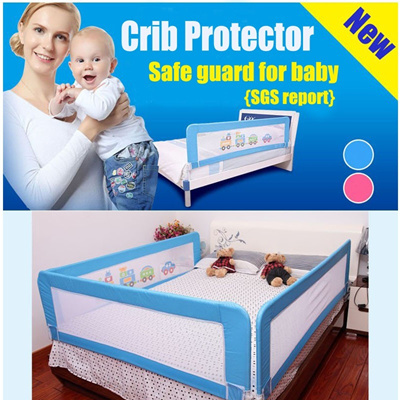 *Inspired-mart* Baby safety Crib Protector /SGS report High quality/ Baby bed protector