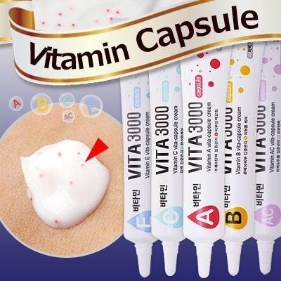 [Vita 3000] Super-vitamin Capsule / No Better Vitamin care than this! Korea is now enthusiastic over the vitamin capsule