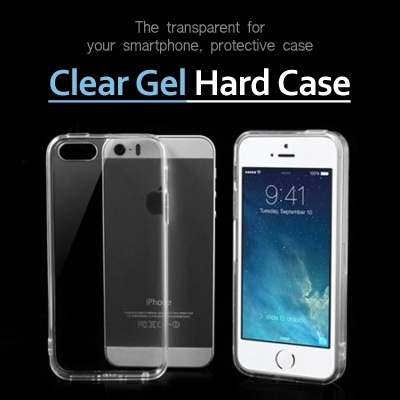 Clear Gel Hard Case★Quick Delivery★iPhone 6 Plus New Galaxy S5 Note 3 NOTE 4 2 3 LG G2 G3 Gpro2 case/SAMSUNG iPhone 6 Plus / S3 S4 S5 iphone 4S 5S/phone casings cases