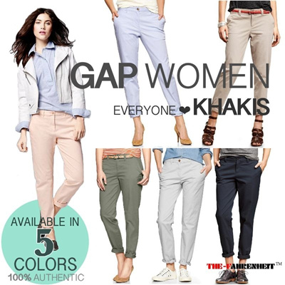 [NEW ARRIVAL]GAP KHAKIS 100% AUTHENTIC {LIMITED EDITION}NEW COLOR AVAILABLE!