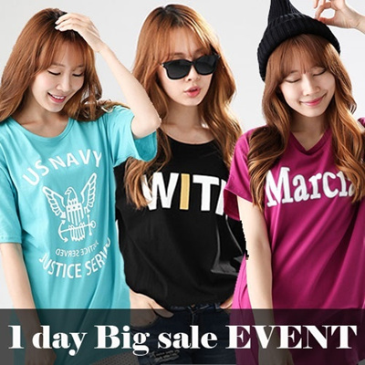 Free shipping!!!★KOREA MEGA HIT 88% OFF★ women fashion women clothing [Top Shop] Plus Size T-Shirts Over 100 Style Customer Satisfaction High products in Korea Girlish Long T-Shirts! Travel Item Trave