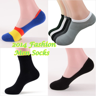 Bamboo Fiber Man Sock ★ Colorful Invisible Sock ★ Ankle Sock ★ Crew Length Sock ★ Free Size ★ No show Sock ★ Ready Stock in SG
