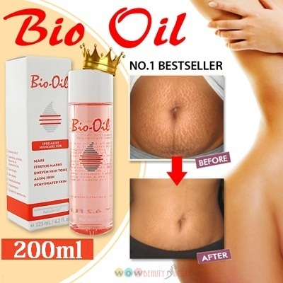 LIMITED OFFER: Bio-oil 200ml Big Value Bottle ★No.1 Bestseller★ For Stretch marks Scars Uneven Skin Tone Aging Skin