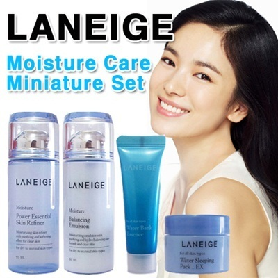 [Laneige]Moisture Care Miniature Sammple(4Items)!!! Super Price!! Manufactured 2013!! Amore Pacific