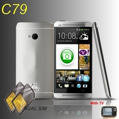 i-Cherry C79 BIG LCD Slim Design With TV | Buy 1 Get 1 Free Flip Cover