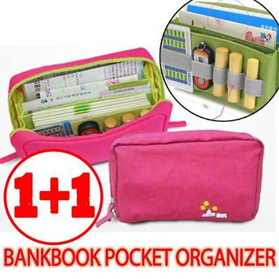 [SUPER HOT SALE][BUY 1+1]MULTIFUNCTION BANKBOOK POCKET ORGANIZER