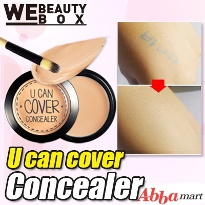 [82% OFF Special Deal Price] U can cover Concealer★2 color(2.5g) free shipping/ Zero-defects Perfect cover!/Eyeliner/Foundation/cc cream/korea cosmetic