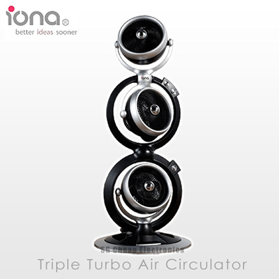 *SPECIAL PRICE* IONA Triple Turbo Air Circulator QQ Fan (GLQQ888)