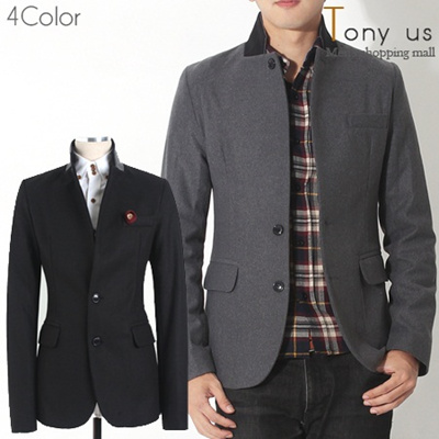★Korea COAT Slim Line★ TNT-J1013 High quality Men coat slim fit jacket