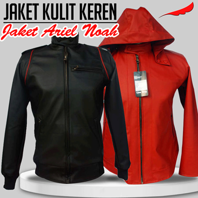 Jaket Ariel Noah [Jaket Kulit Keren] *Ready Stok*Best Seller in Online Shop
